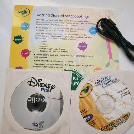 Software Disney Pix & Crayola ColorGenie