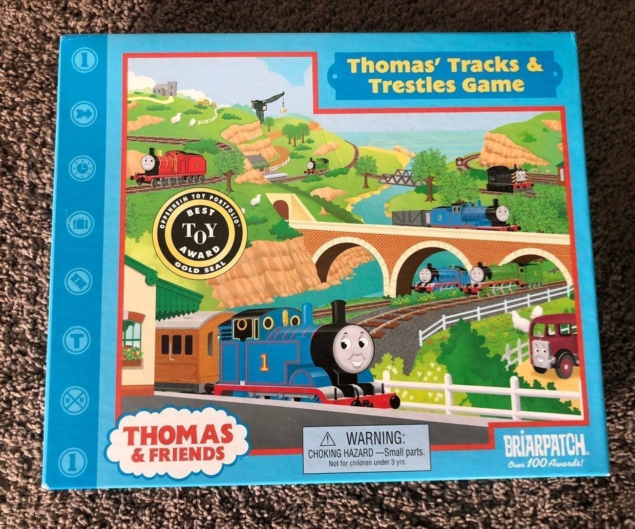 Thomas's Tracks & Trestles Game & FREE