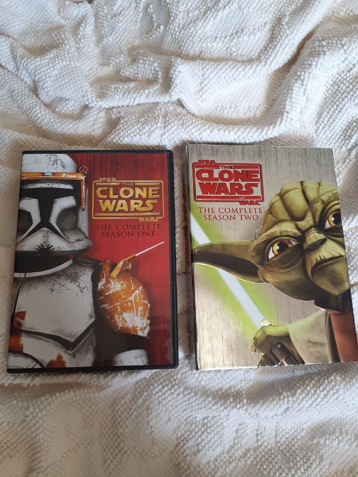 Star Wars Clone Wars Season 1&2 DvD