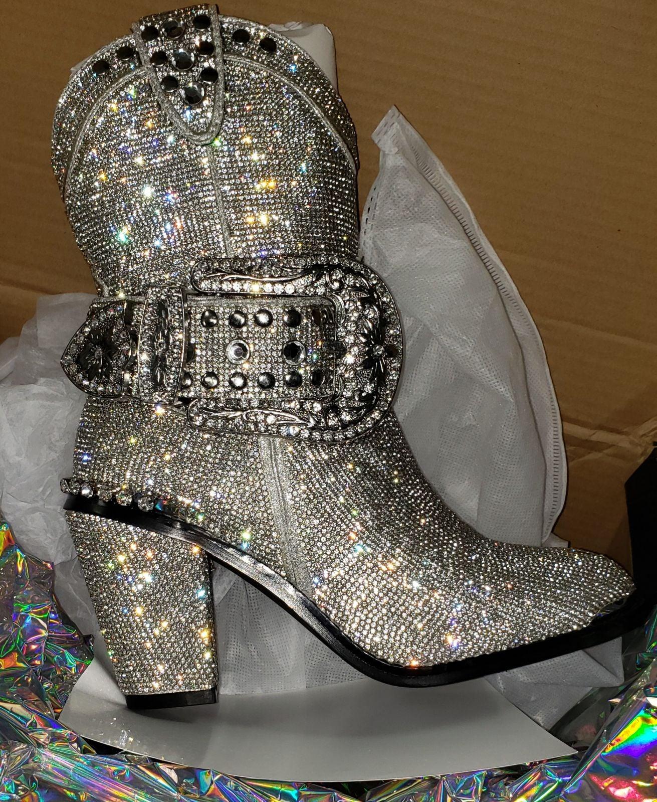 Dolls Kill Cowboy Boots   Mercari
