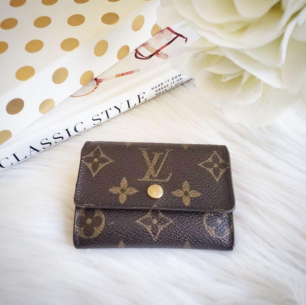 Louis Vuitton Monogram Card and Coin Cas