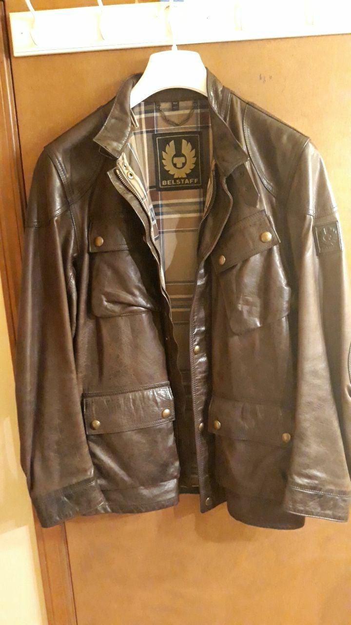 Authentic Belstaff Leather Jacket