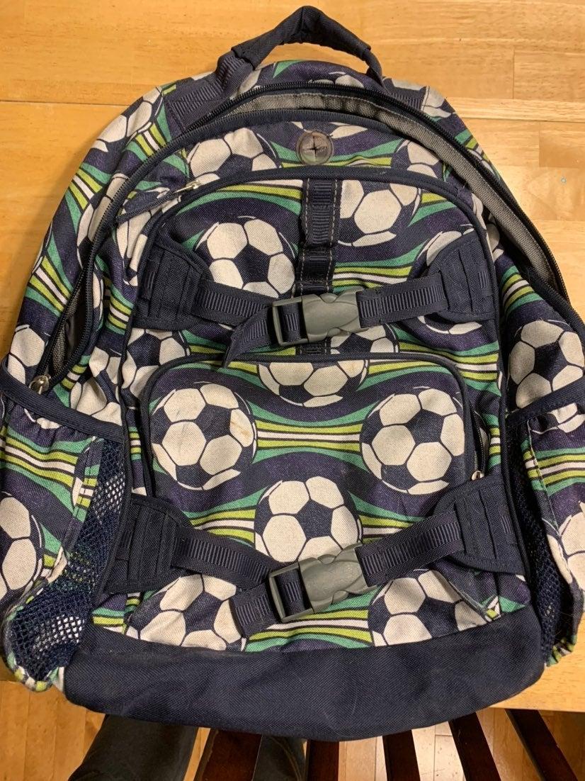 Pottery Barn Kids Backpack soccer
