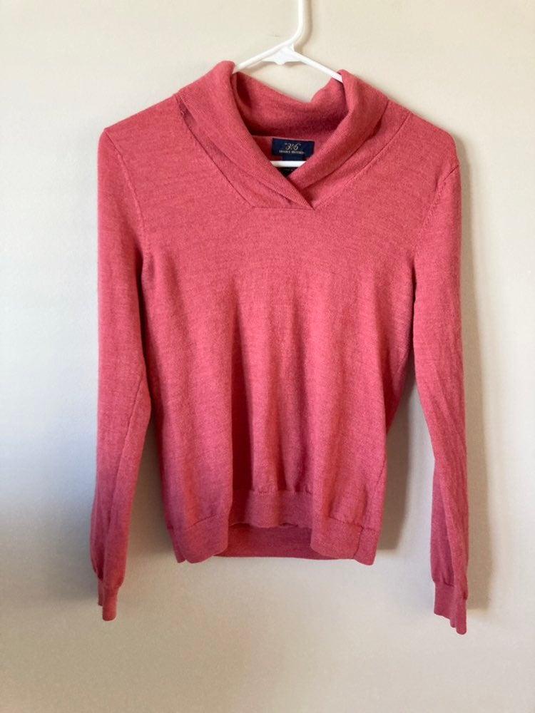 Brooks Brothers 347 Shawl Collar Sweater