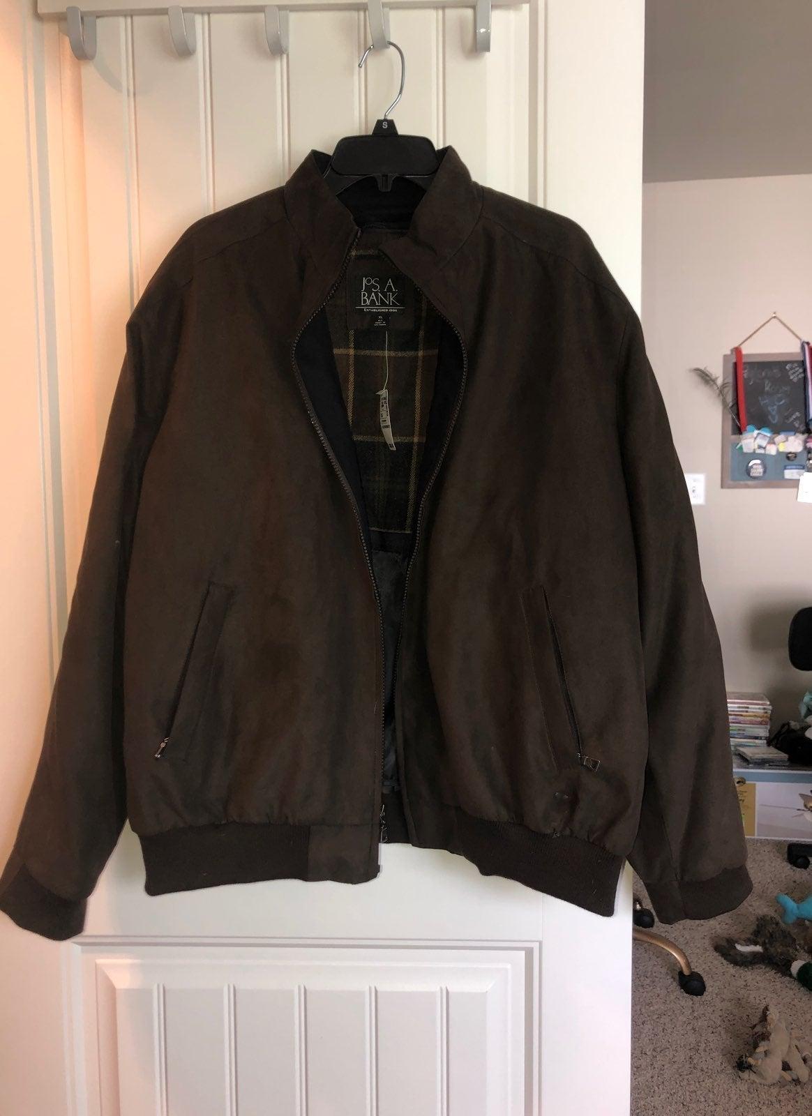 Jos. A. Bank Mens Bomber jacket