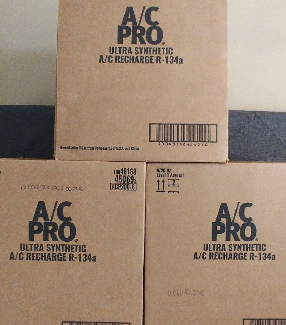 A/C PRO Ultra Synthetic Recharge R-134a