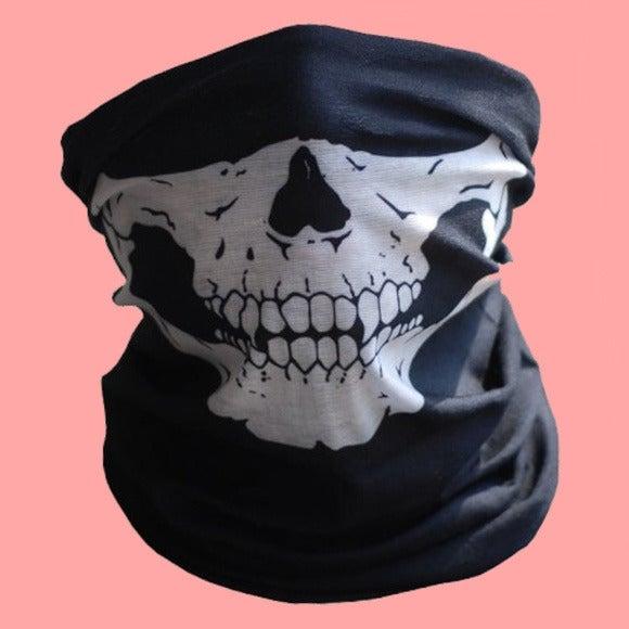 SKULL BANDANA - Mask Scarf Rave Fashion