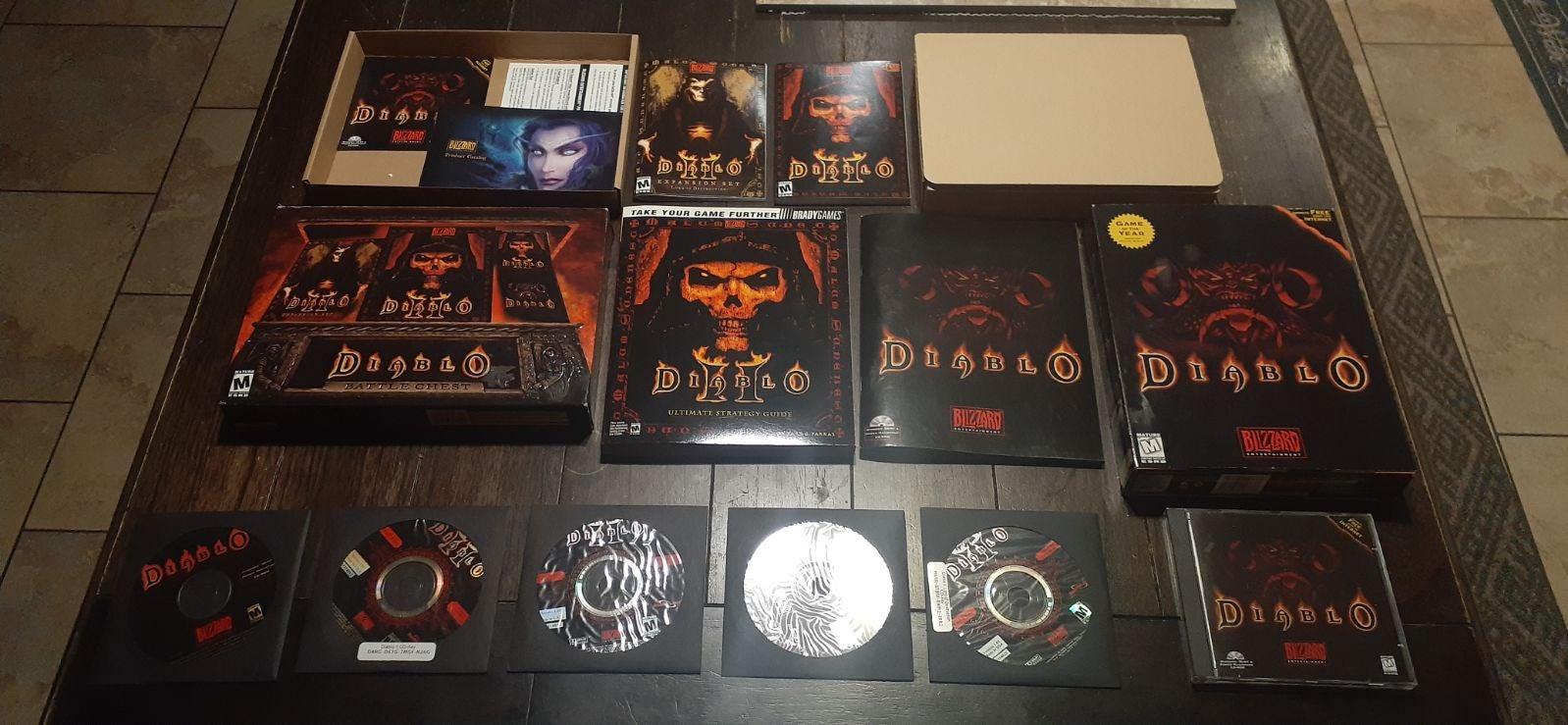 Diablo 1998 Big Box  Diablo Battle Chest