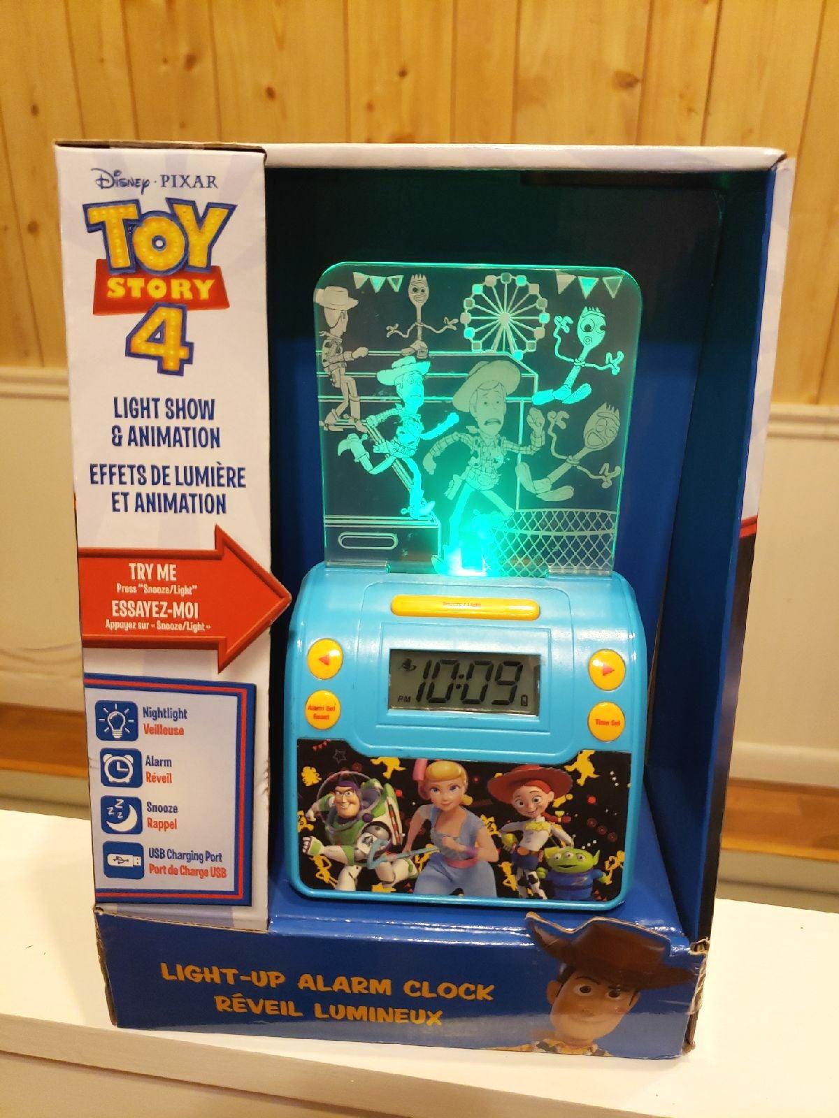 Light-up Toy Story Nightlight Alarm