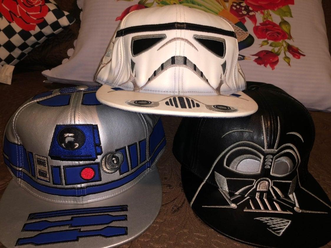 Star Wars Leather Hat Lot OG Lucasfilms