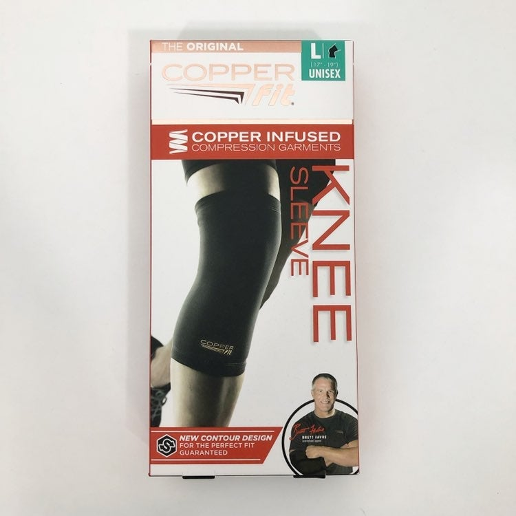 Compression Knee Sleeves Copper Infused