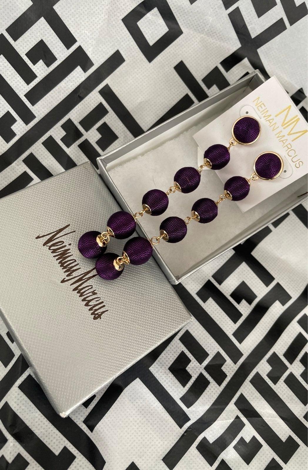 NWT Neiman Marcus earrings!