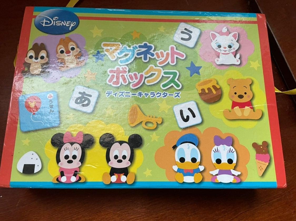 Disney japanese マグネットボックス