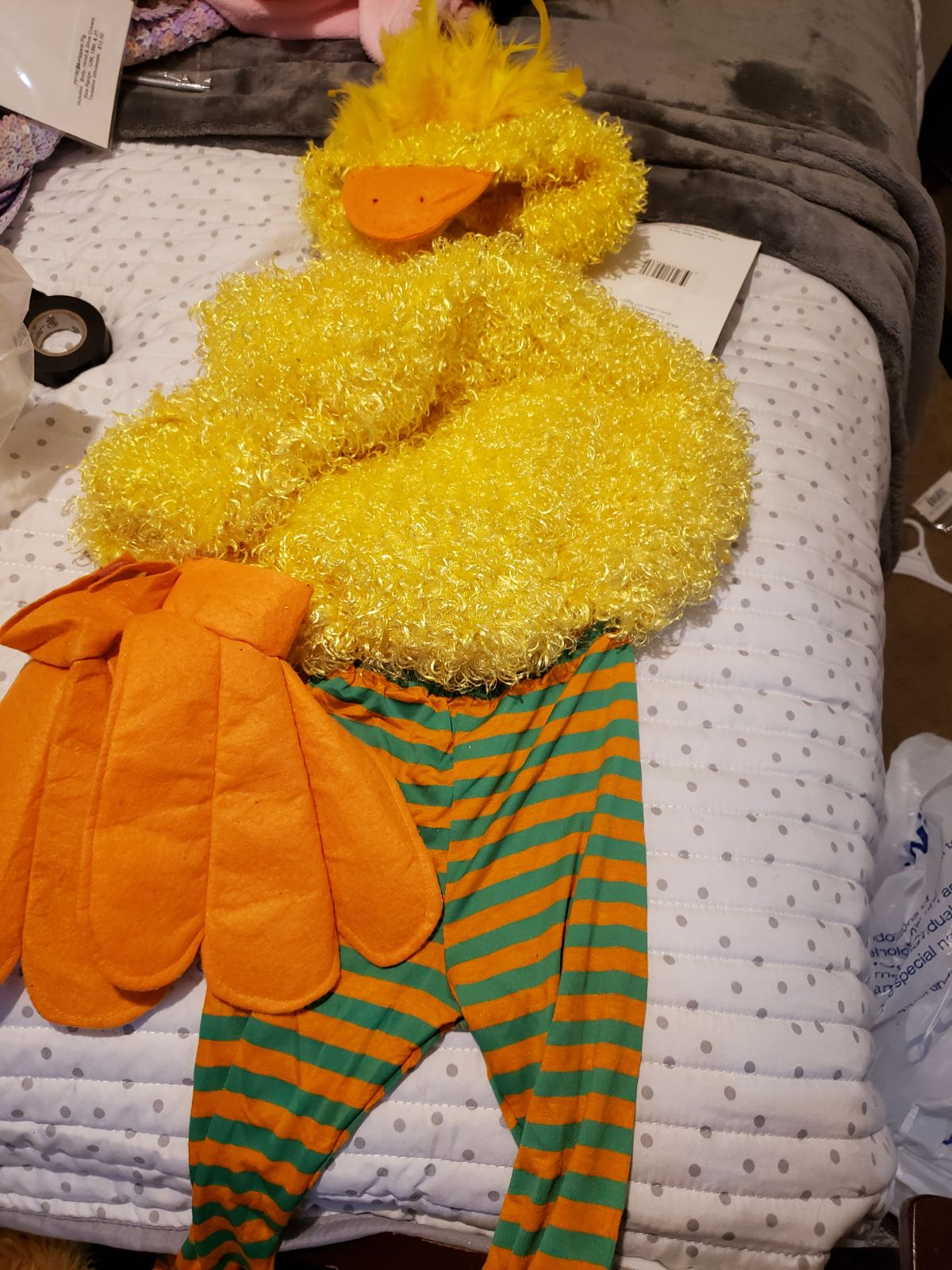 Toddler 4/5 costume handmade