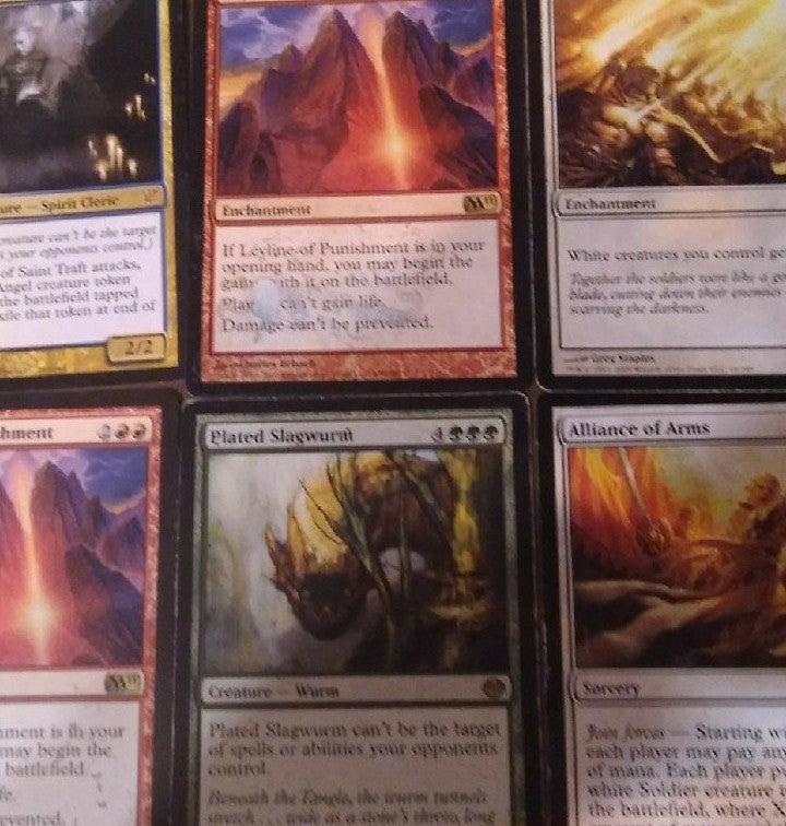 DAMAGED MTG CARDS