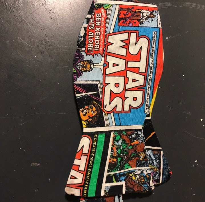 handmade star wars bow tie