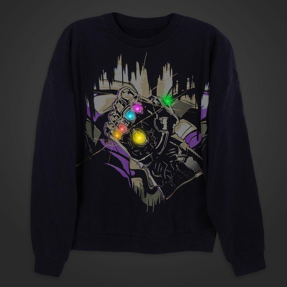 Thanos Infinity Gauntlet Light-Up Sweats