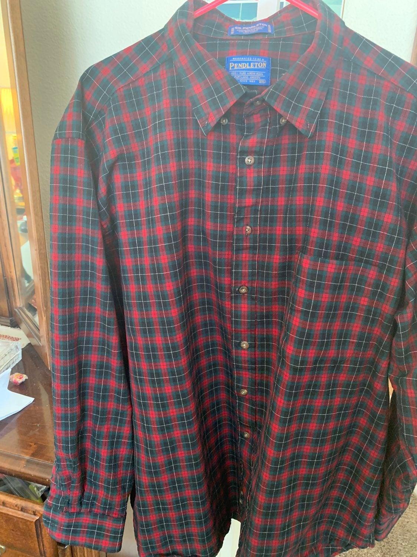 pendelton wool shirt