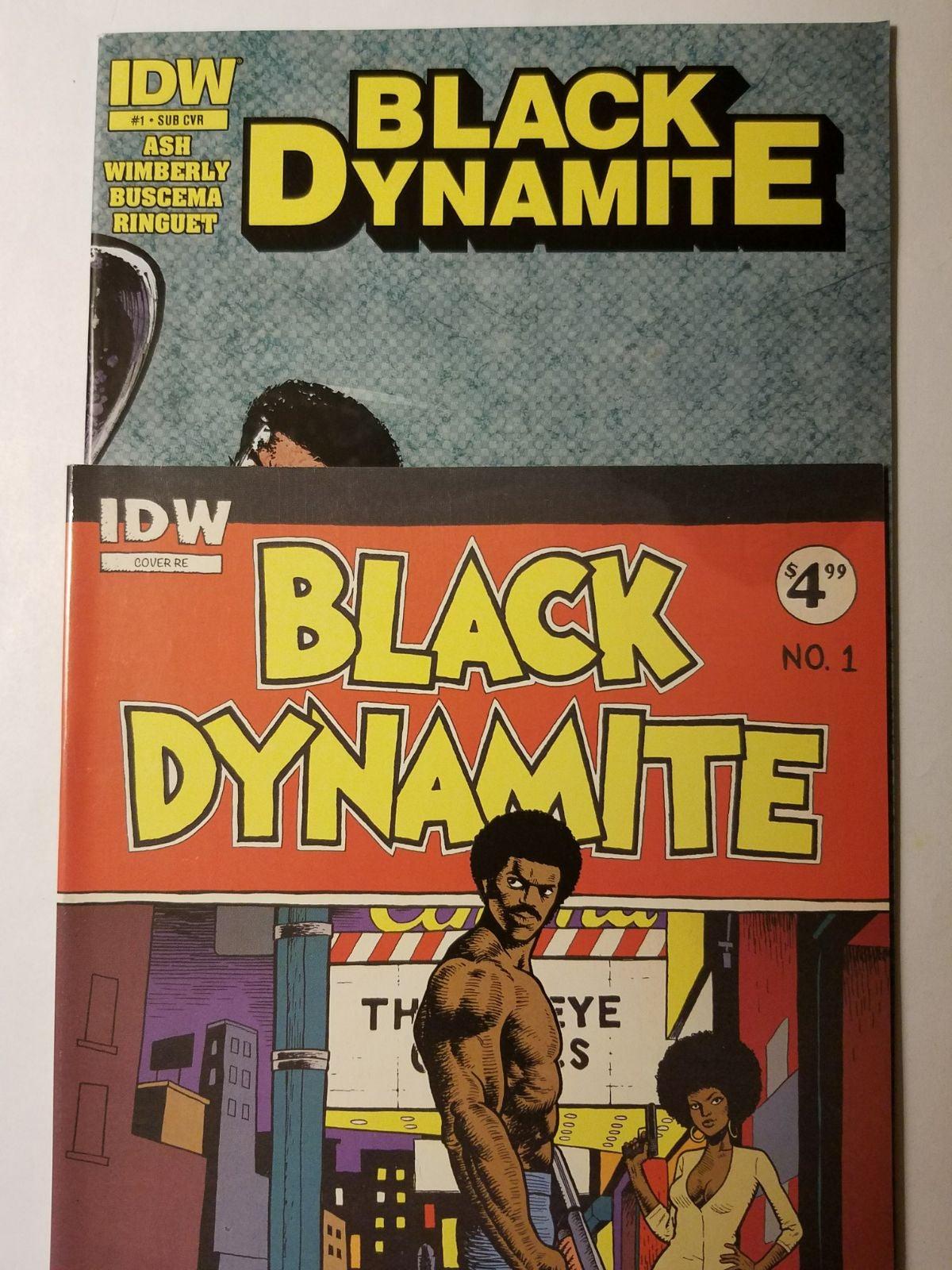 BLACK DYNAMITE #1 variant lot