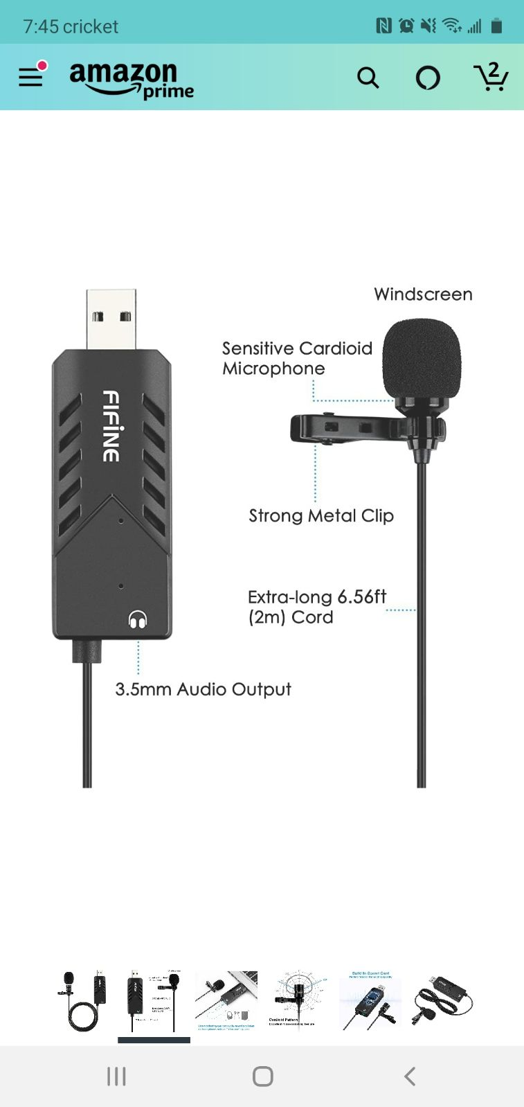 Fifine K053  USB microphone