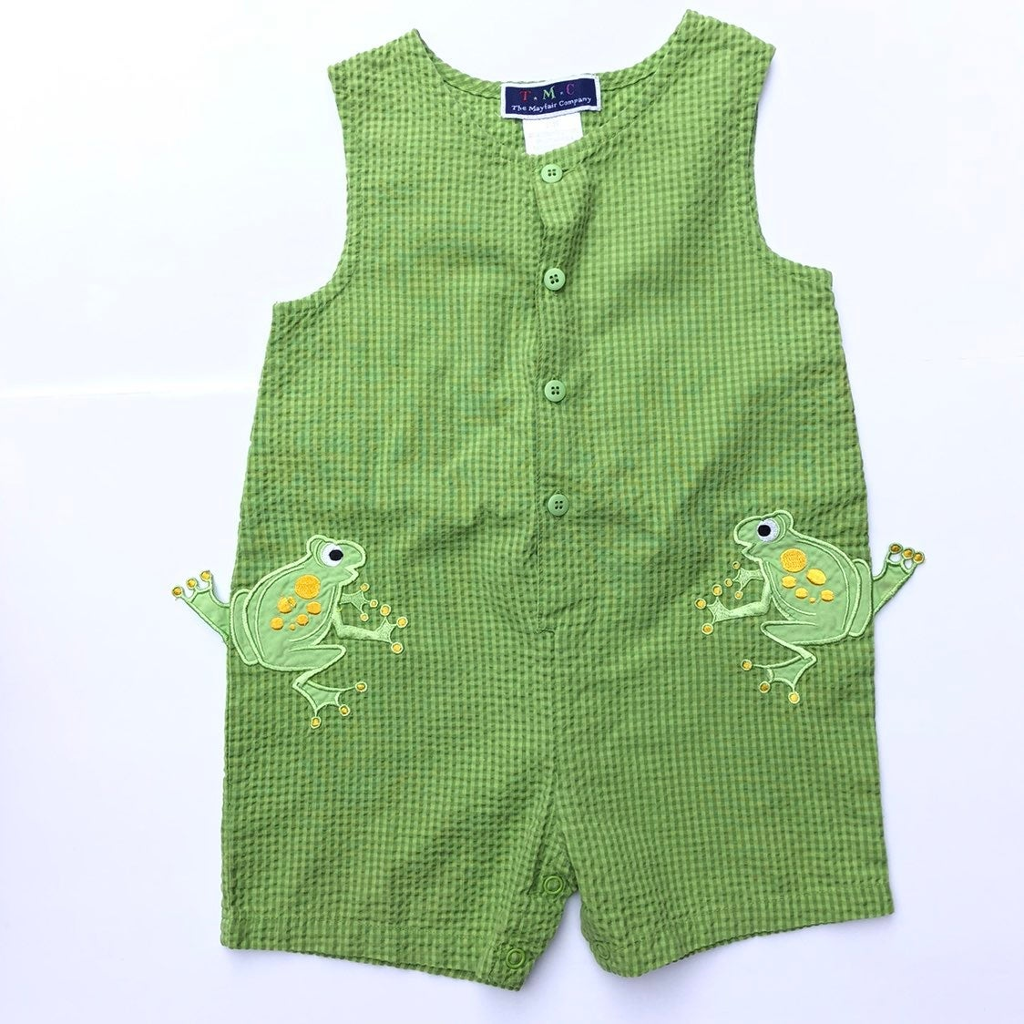 Boys Frog Jumper Outfit 2T Green