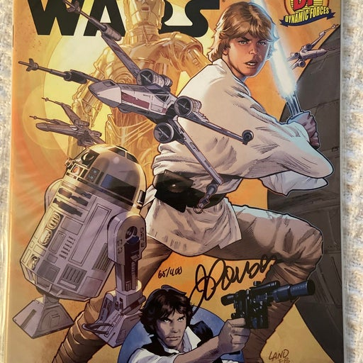 Star Wars 1 Signed