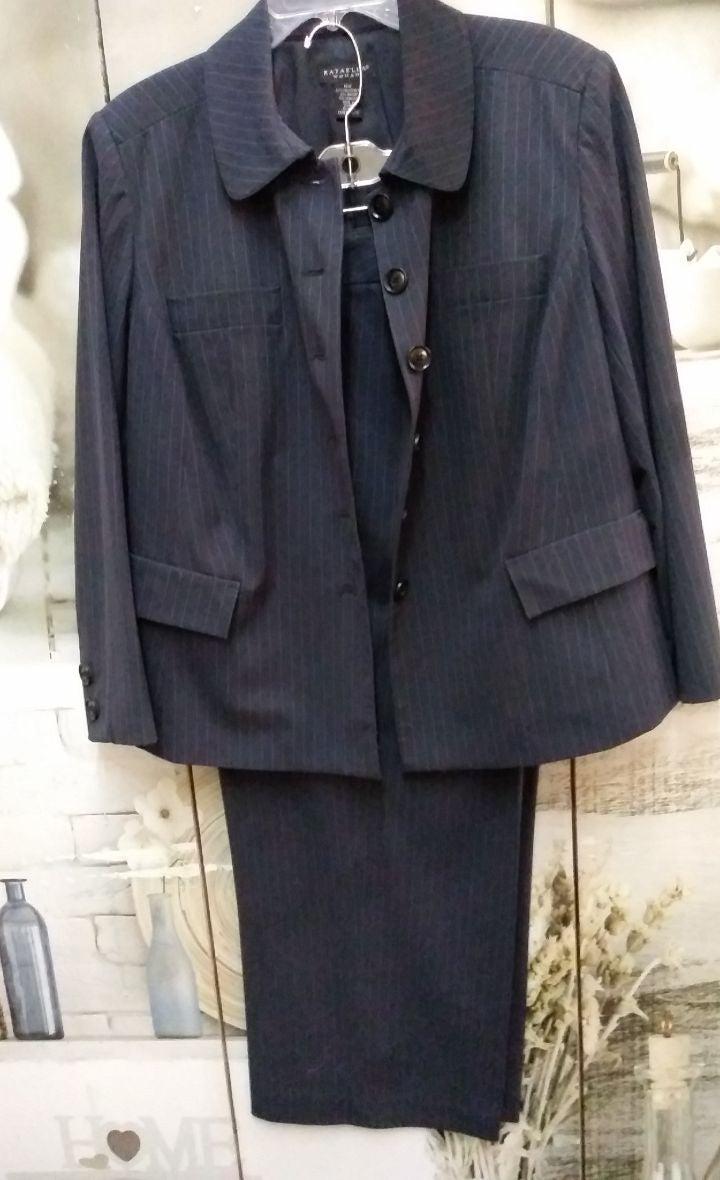 Pant Suit by Rafaella Sz. 16W NWOT