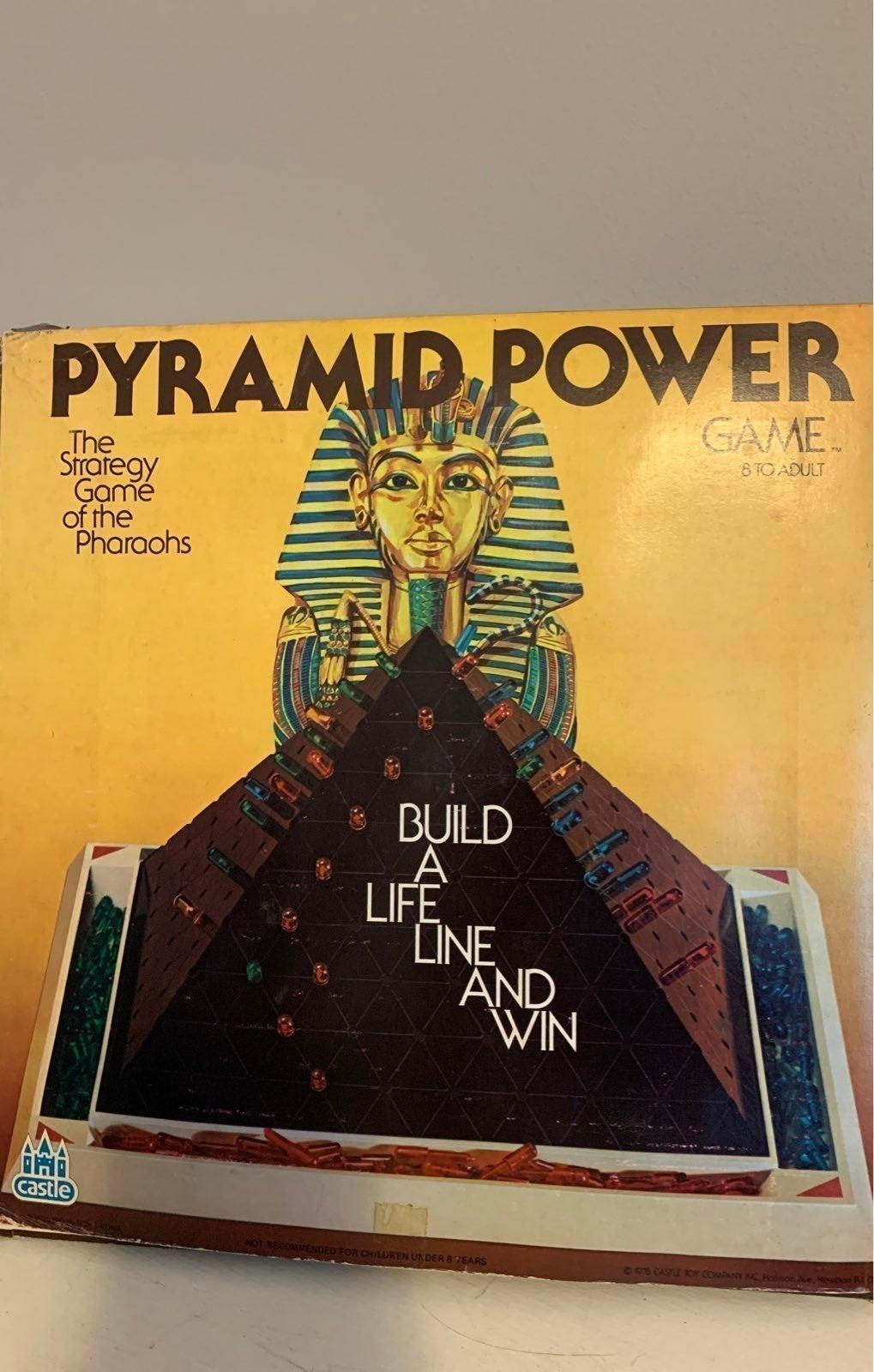 Rare 1978 Pyramid Power Game
