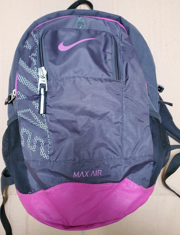 Nike max air  Backpack purple/black