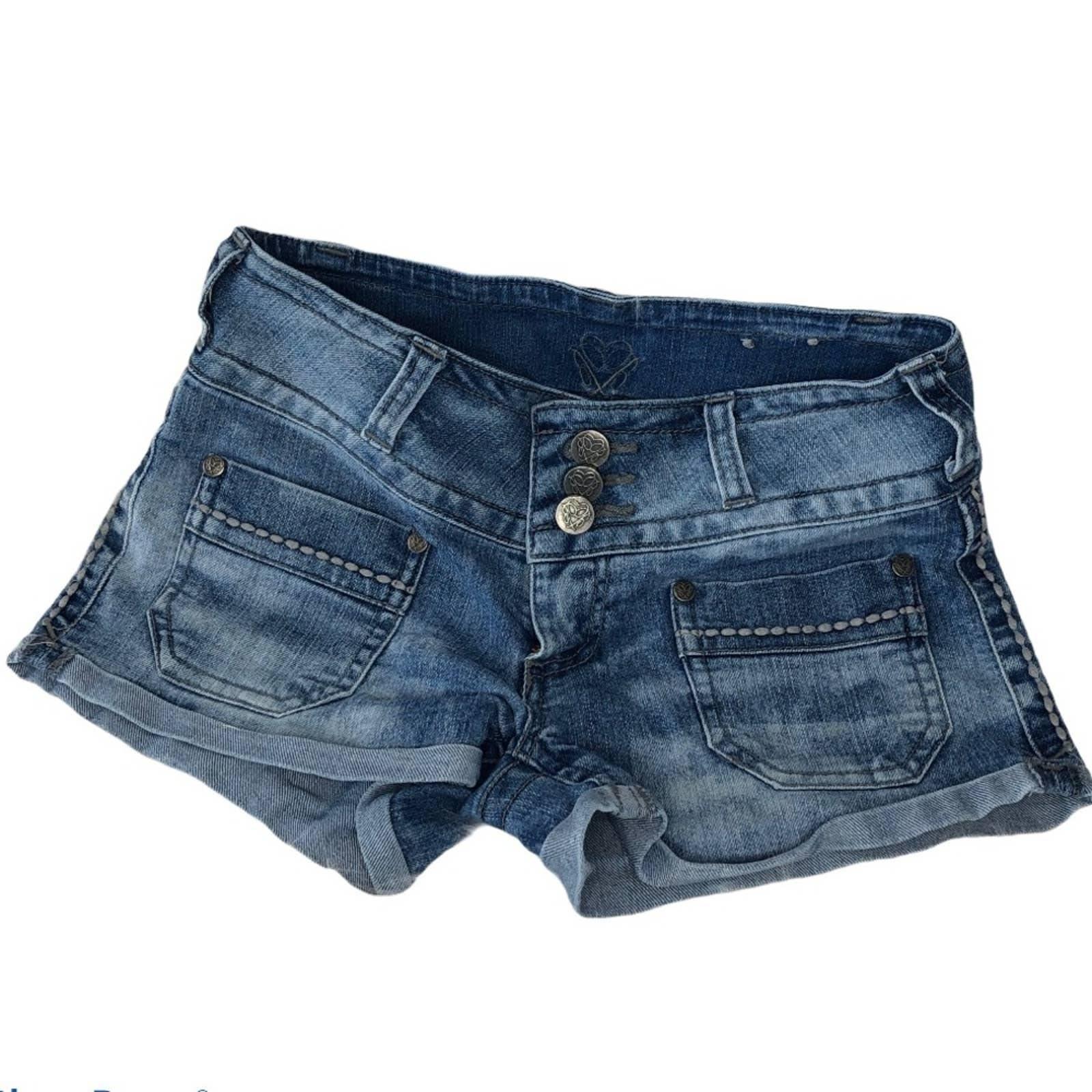 Bubblegum 3 button jean shorts Sz 1/2