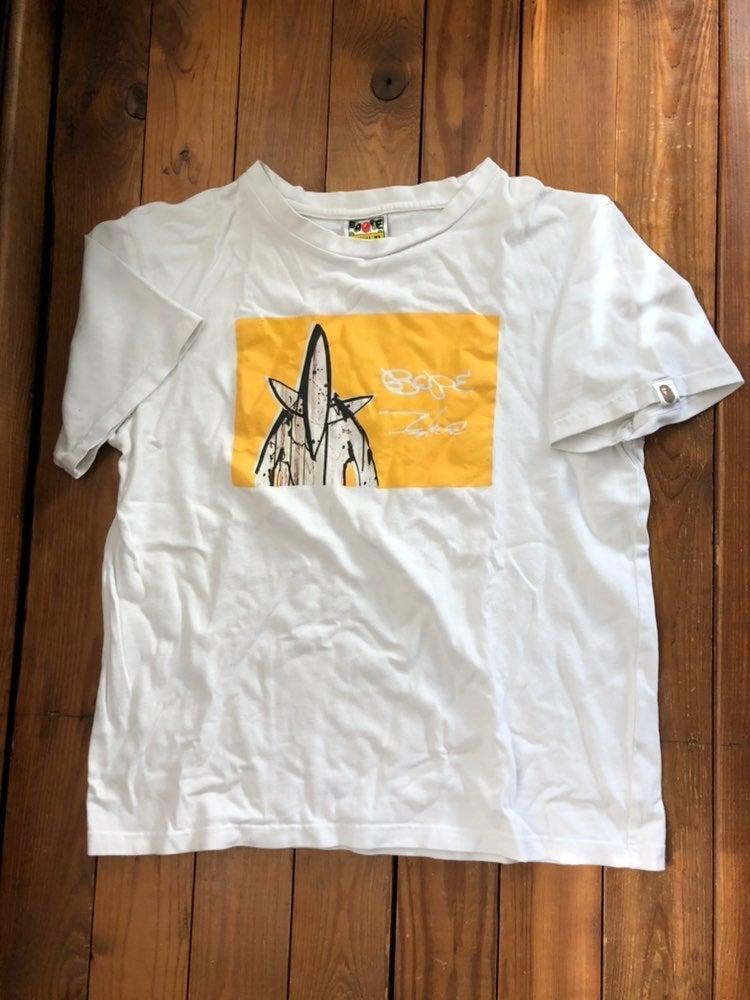 Bape Futura Pointman White Tee Shirt