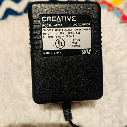 Creative A9700 Wall Charger Adapter