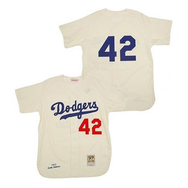 Dodgers Jackie Robinson 42 Jersey