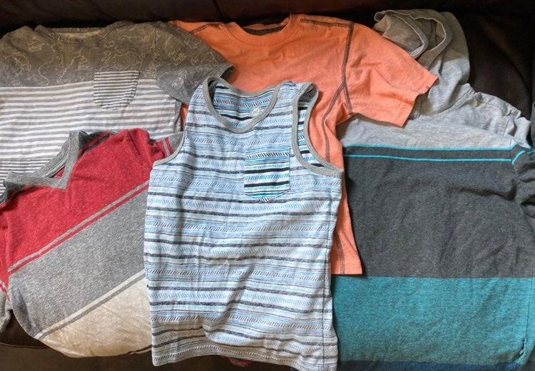 Boys 7/8 summer t-shirts