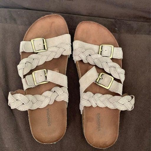 Womens Sonoma sandals - size 6 1/2