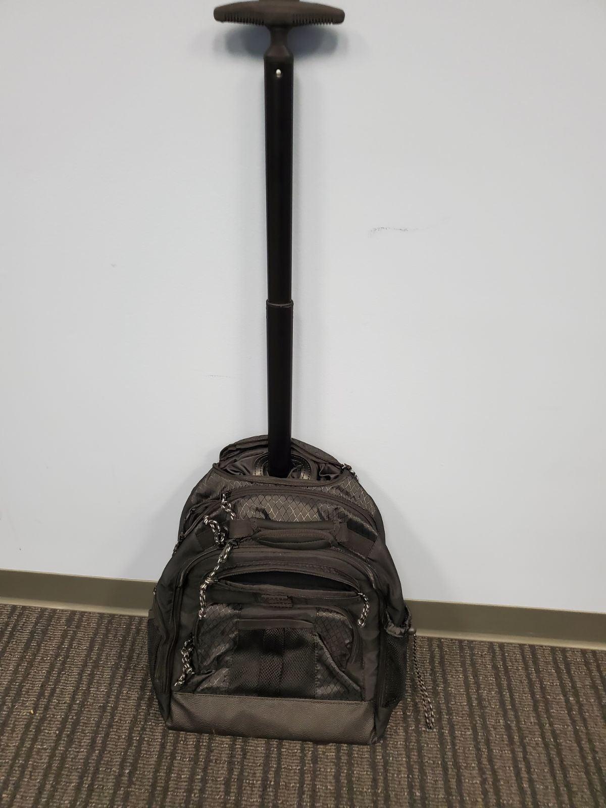 Targus wheeled laptop backpack