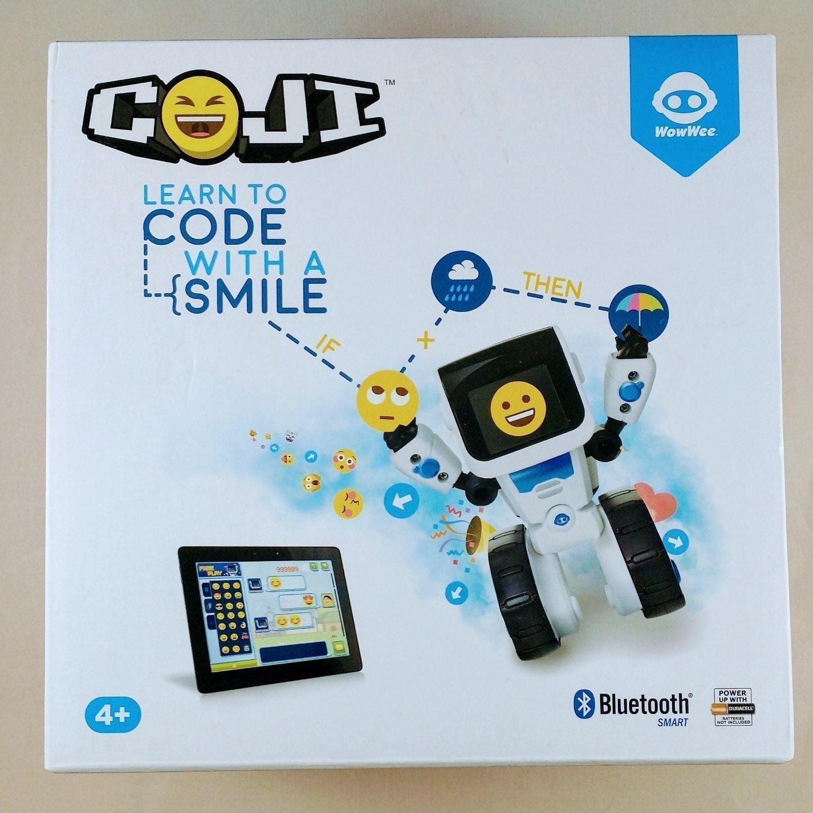 COJI Coding Robot Learn to Code