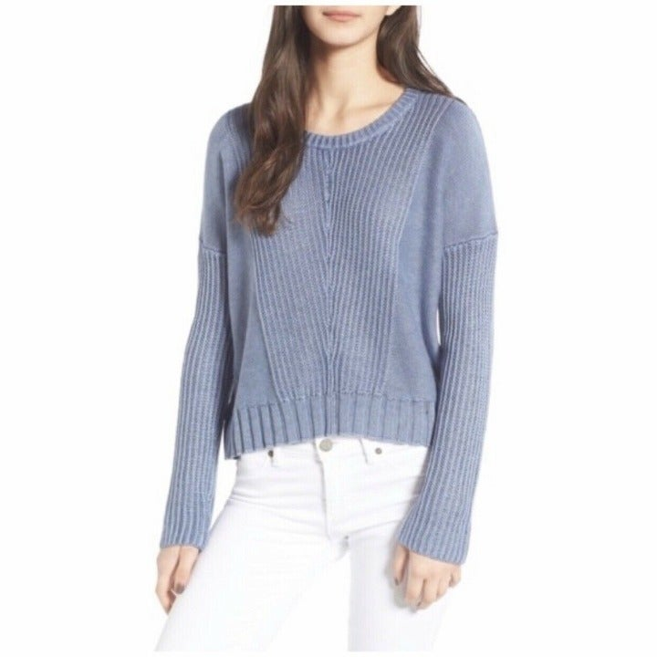Rails Womans Large Elsa Pullover Sweater