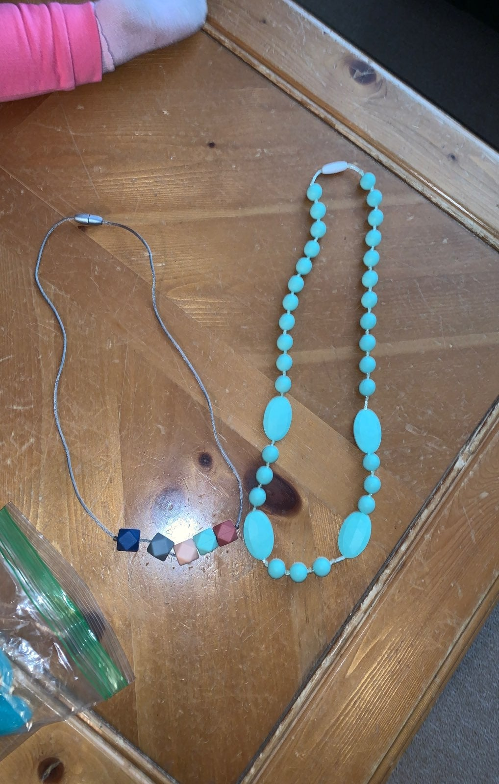 Itzy ritzy Teething necklaces