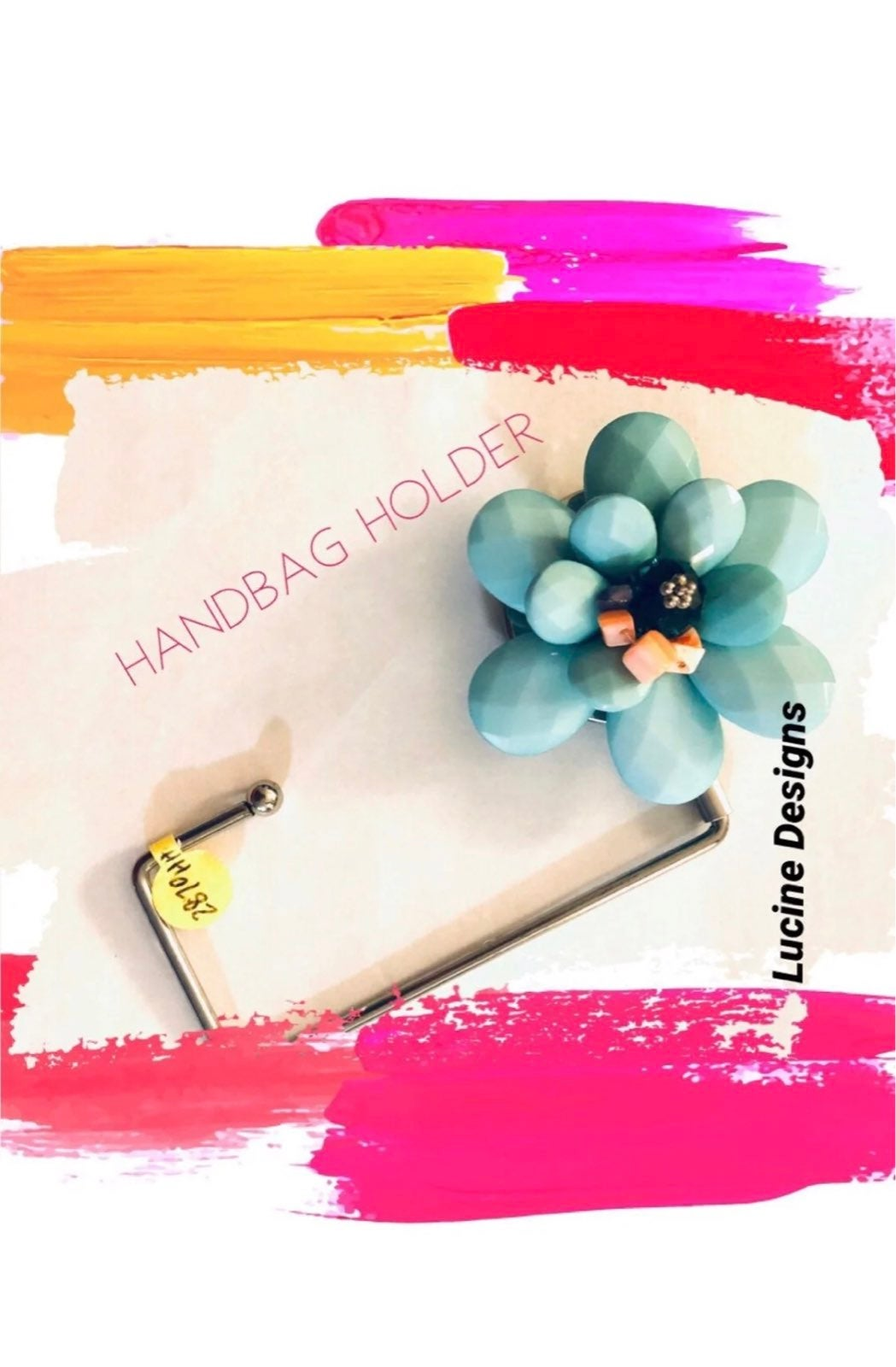 Handbag holder by Lucine Designs NEW