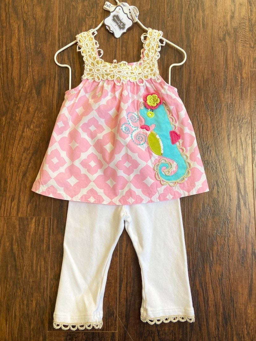 Mud Pie girls outfit size 24 months
