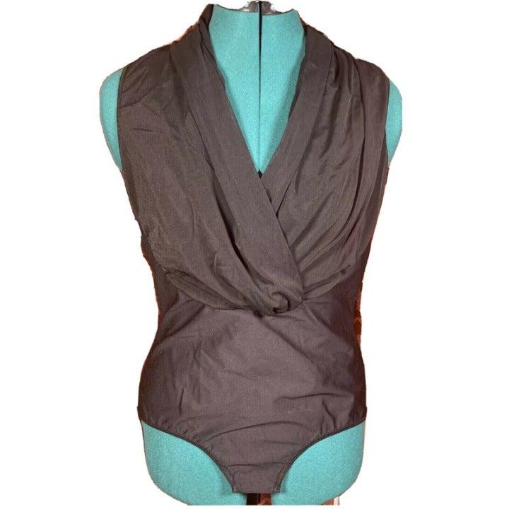 Women's Hanky Panky Surplice Bodysuit, L
