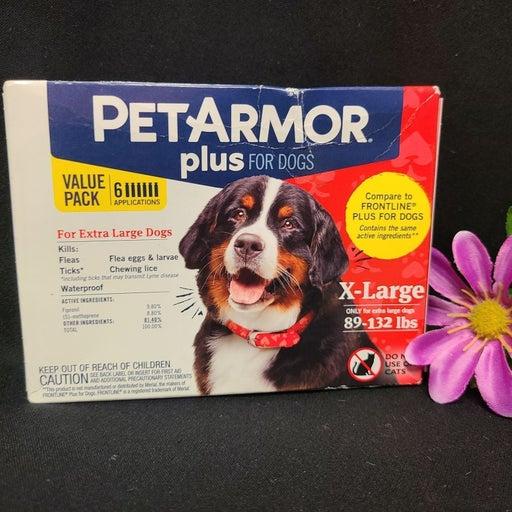 PETARMOR PLUS Flea Treatment 89-132lbs