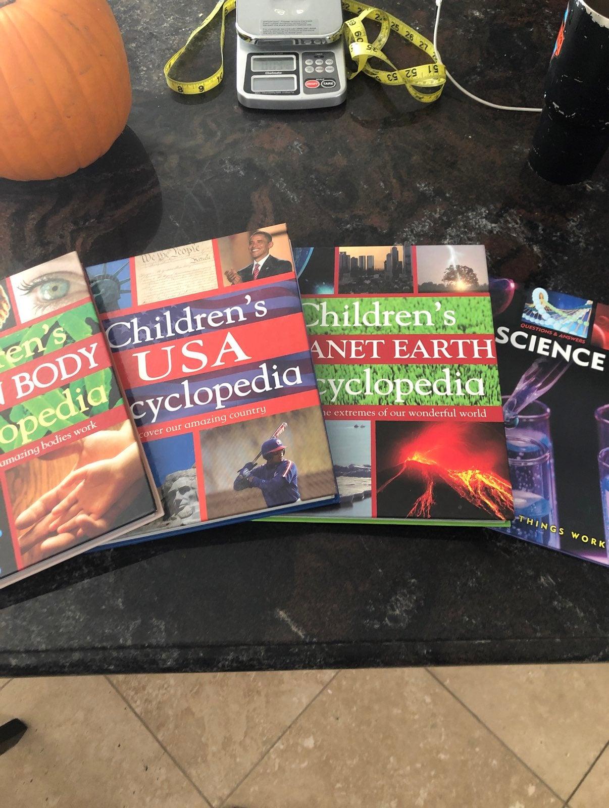 4 Childrens Science Books