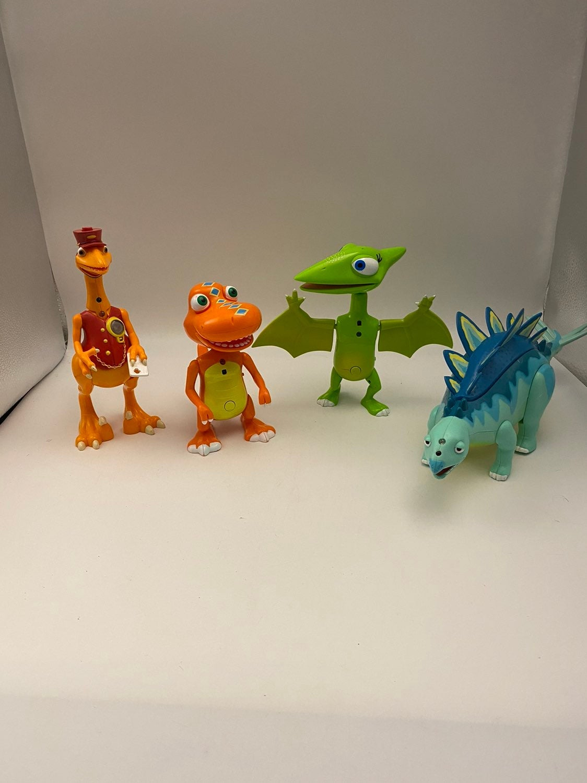 PBS Talking Dinosaur Train Lot of 4