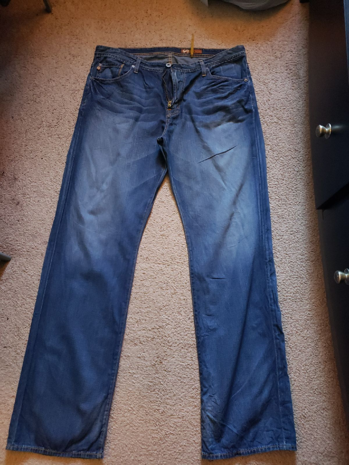 Mens Used Adriano Goldschmied Jeans S 38