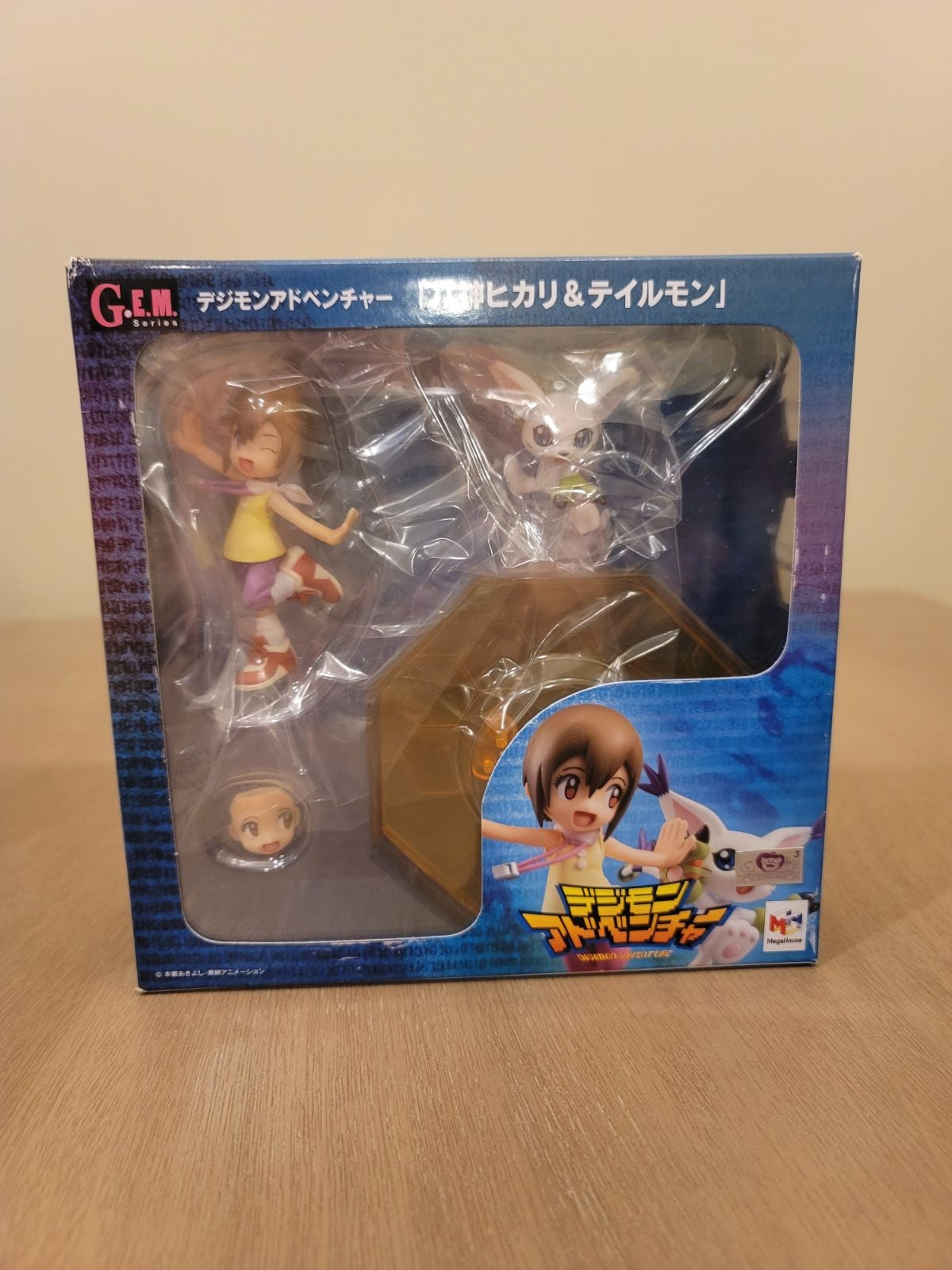 Digimon Adv. Yagami Hikari&Tailmon Fig.