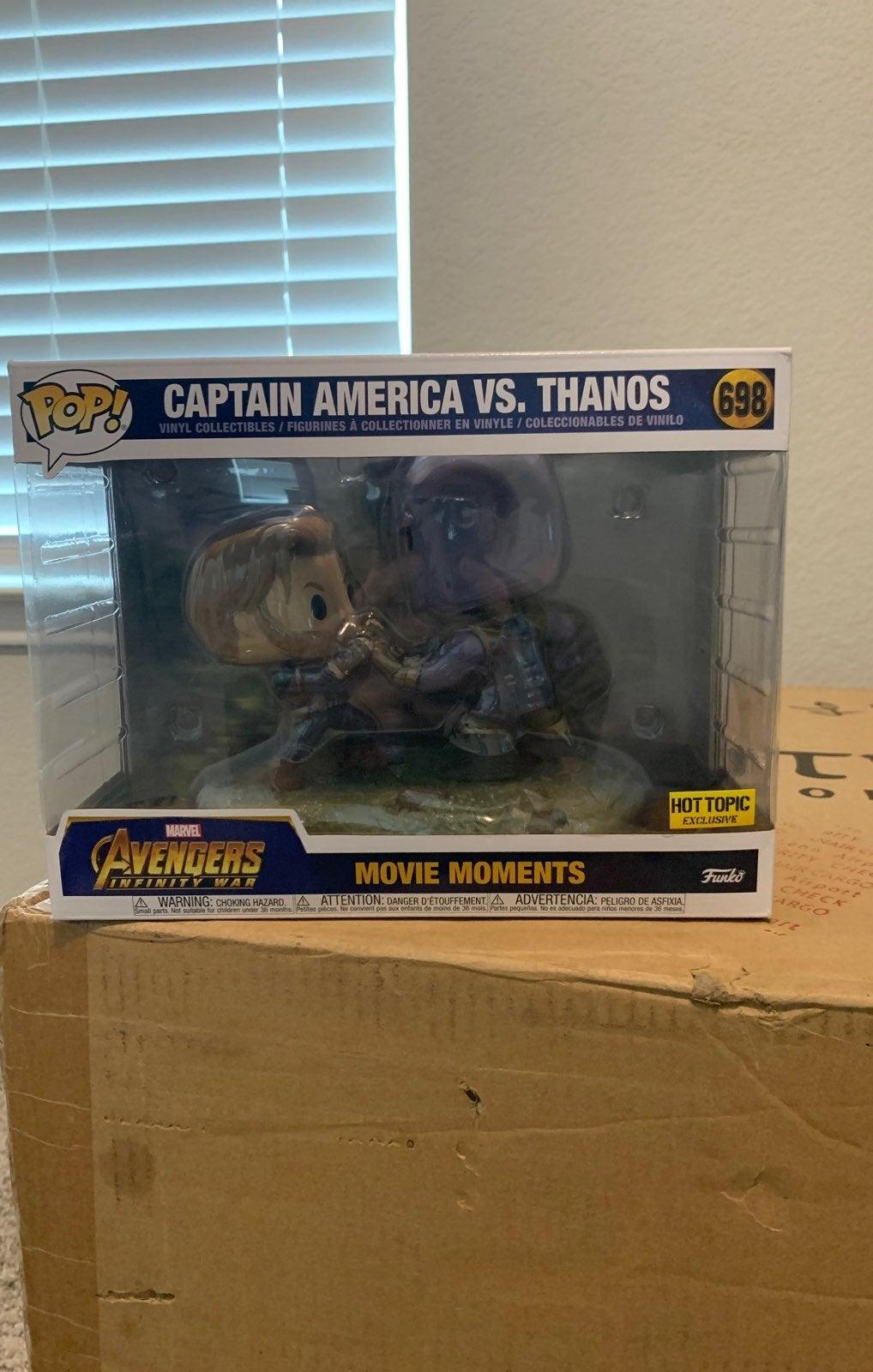 captain america vs thanos