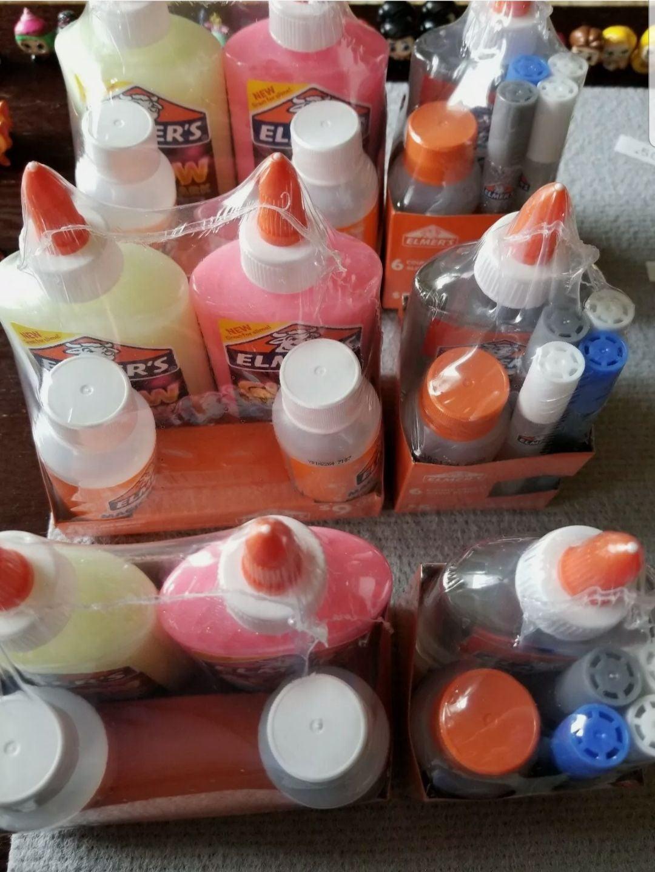 Elmer's Slime Bundles. 6 New Packs!