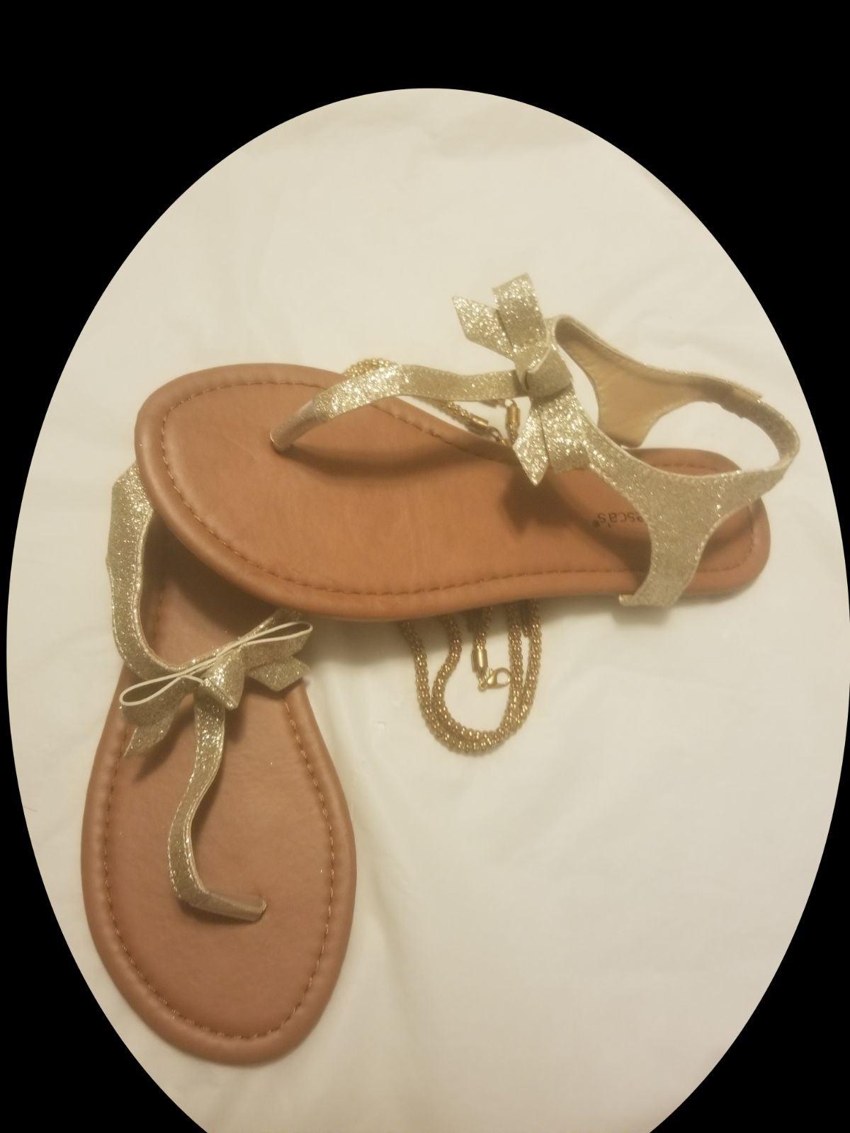 SALE! Golden Boe Sandals